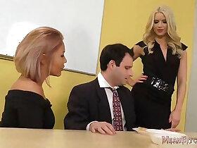 ass porn - Anikka Albrite and Mena Mason Ass Worship