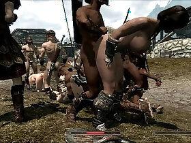 girl porn - Skyrim Girls in trouble
