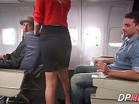 slutty porn - Slutty flight attendant