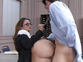 cock porn - College cutie Allie Haze take cock