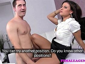 agent porn - FemaleAgent Horny sex starved new agent