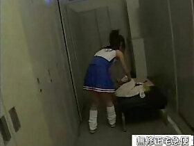 japanese porn - japanese schoolgirl gets fucked in the locker room