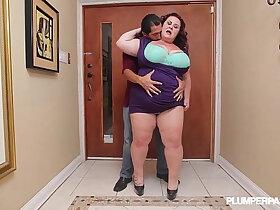 bbw porn - Sexy Cougar BBW Lady Fucks Latin Landlord Juan Largo
