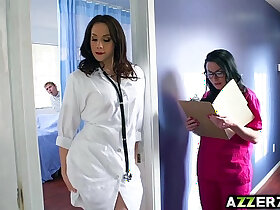 3some porn - Hot doctor Chanel 3some fuck at the hospital