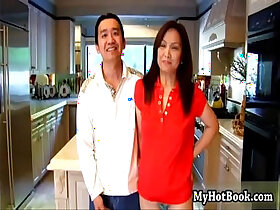 asian porn - Youll love this happy Asian MILF as sh
