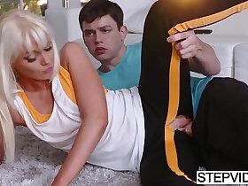 son porn - Stepmom Marie Mccray seducing her stepson