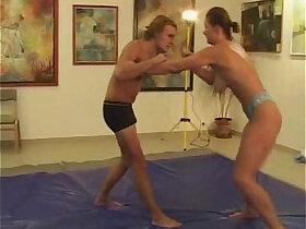 wrestling porn - Daniela vs Tom
