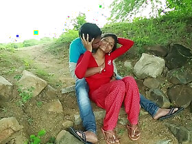 aunty porn - Village Aunty With her Neighbour In Outdoor Latest Telugu Romantic Short