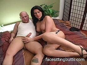 horny porn - Horny MILF and a pair of baldheads