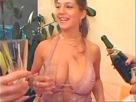 busty porn - Busty Lesbo Strapon