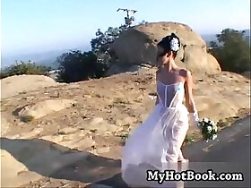 bride porn - Taylor Rain is so happy to be married to her new h
