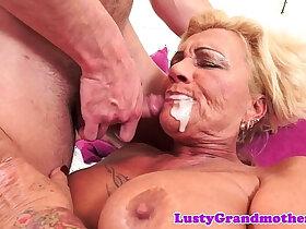 big tits porn - Tattooed gilf fucked with big tits love