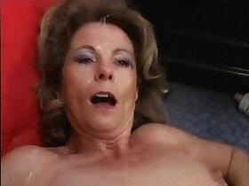 banged porn - Mature Milf Ganag Bang CumSwallow