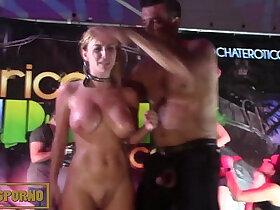 orgy porn - Barcelona public orgy