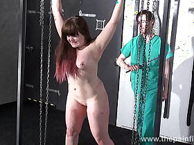 amateur porn - Teen bdsm of chubby amateur slave Louise in hardcore spanking and merciless dung