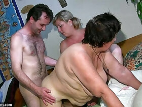 chubby porn - OldNanny Chubby lady and milf masturbate,fuck and play with a toy