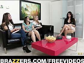girl porn - Sex starved wife fucked hard by her lesbian with strap