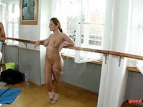 balls porn - Big titty fucked hardcore in Gym