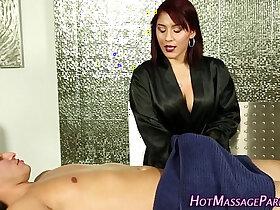 ass fucking porn - Jizzy mouth masseuse suck