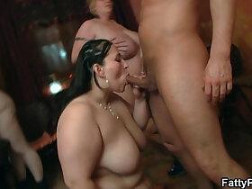 bbw porn - Wild bbw sex in the fat club