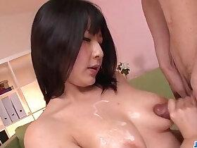 beauty porn - Megumi Haruka busty beauty sucking black cock