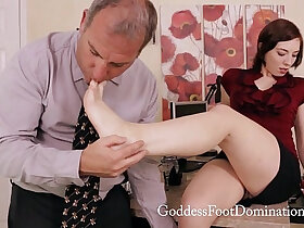 fetish porn - Corporate Politics Footjob Foot Fetish