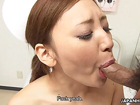 asian porn - Asian getting her wet pussy handled right