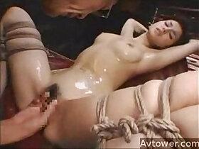 asian porn - Maria bondage