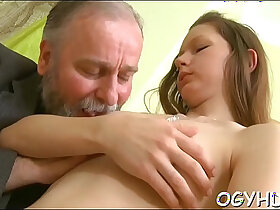dude porn - Old dude fucks juvenile moist pussy