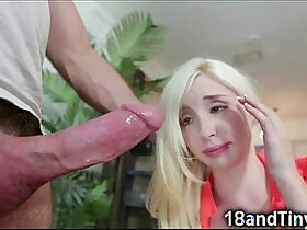 big cock porn - Incredibly Small tit Teen Ruined by Big Cock!