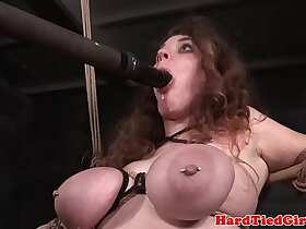 bdsm porn - BDSM sun tied up and toyed by interracial dom