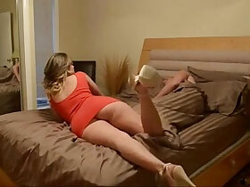 foot porn - Step sister wants a foot rub