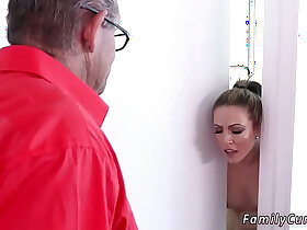 fat porn - Rough old man xxx Faking Out Your Father