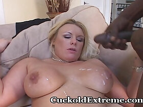 cuckold porn - Cuckold Wife Takes Two Dark Studs