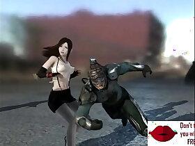 animation porn - Gameplay captured slave in