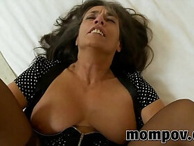 mature porn - mature milf spotted and fucked in her pantyhose