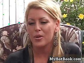 blonde porn - Chelsea Zinn is a wild MILF who bit off wa