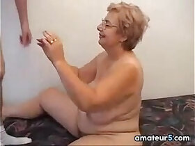 ass fucking porn - Glasses Wearing Grandma Wants To Fuck