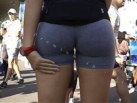 ass porn - Candid Big Booty Bubble Butt Culo Brazil Thick Pawg BBW Ass Premium