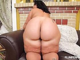 bbc porn - Cute N Curvy Exotic BBW Swallows Big Black Cock