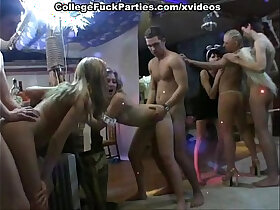 college porn - Costumed party turns into college orgy with lavish cumshots