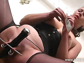 clit porn - Kinkycore Big clit, extreme tits punishments, squirt