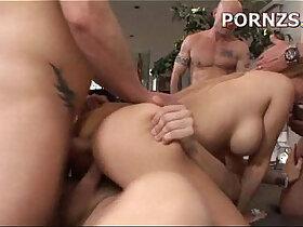 amateur porn - Gangbang Busty amateur Blonde