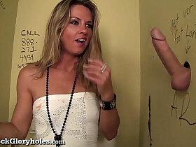 bathroom porn - Hot Slut Blows Stranger In Public Bathroom!