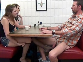 daddy porn - Cialis Porn Tube Buy Cialis daughter gives Footjob and BJ to not her dad Under the Table Porn Tube