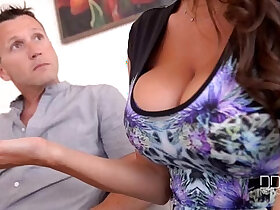 3some porn - Threesome Therapy Busty Goddess Sensual Jane Fucked By Doctor And Husband
