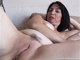 cute porn - Super cute old spunker thinks of you fucking her juicy pussy
