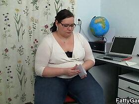 glasses porn - Slender stud seduced by plump teacher in nerdy glasses