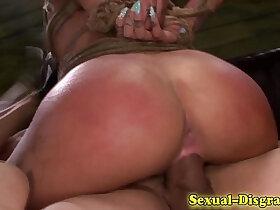 bdsm porn - Bondage whore fucked