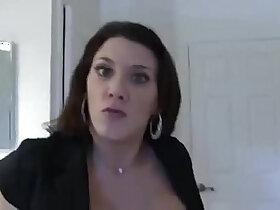 jerking porn - Stepmom Catches Son Jerking And Fucks Him